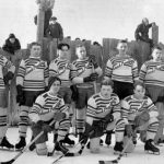 WP00355: Hockey in Wells ca. 1930s.