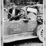 WP00433: The Dairy Truck, ca. 1930s.