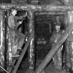WP00619: Timbering at the Cariboo Gold Quartz Mine.