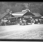 WP00767: Restmore Lodge (10 miles south of Hope).
