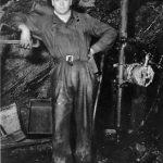 WP00937: Underground hardrock miner ca. 1930s.