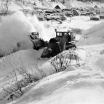 WP00972: The Highways Rotary Snowplough ca. 1934.
