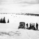 WP01016: Fred Wells' Snowmobile ca. 1939.